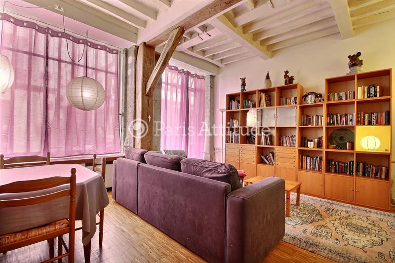 Rent Duplex in Paris 75009 - 77m² Saint Georges - ref 2427