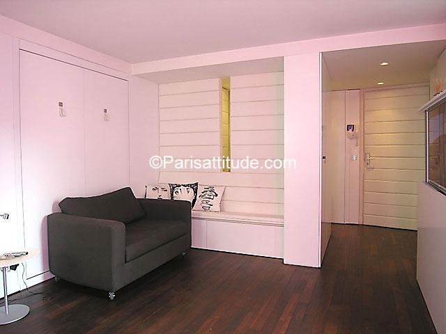 Rent Apartment in Paris 75003 - 32m² Le Marais-Bastille - ref 7217