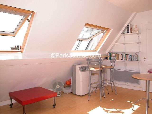 Rent Apartment in Paris 75018 - 30m² Abbesses - ref 616