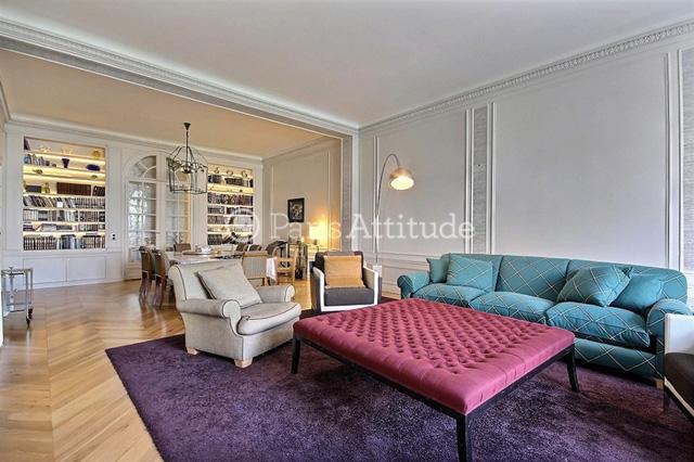 Rent Apartment 4 Bedroom 245 M². Boulevard Flandrin 75016 Paris