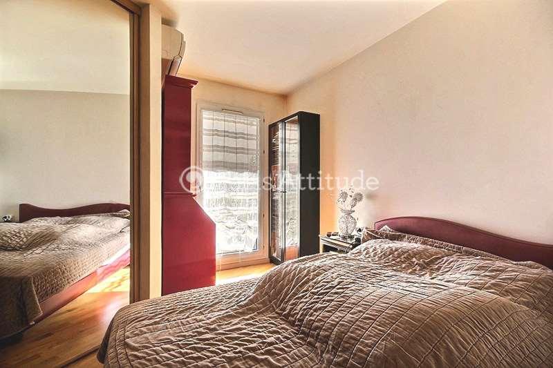 Rent Apartment in Paris 75020 - 45m² Pere Lachaise - ref 3352