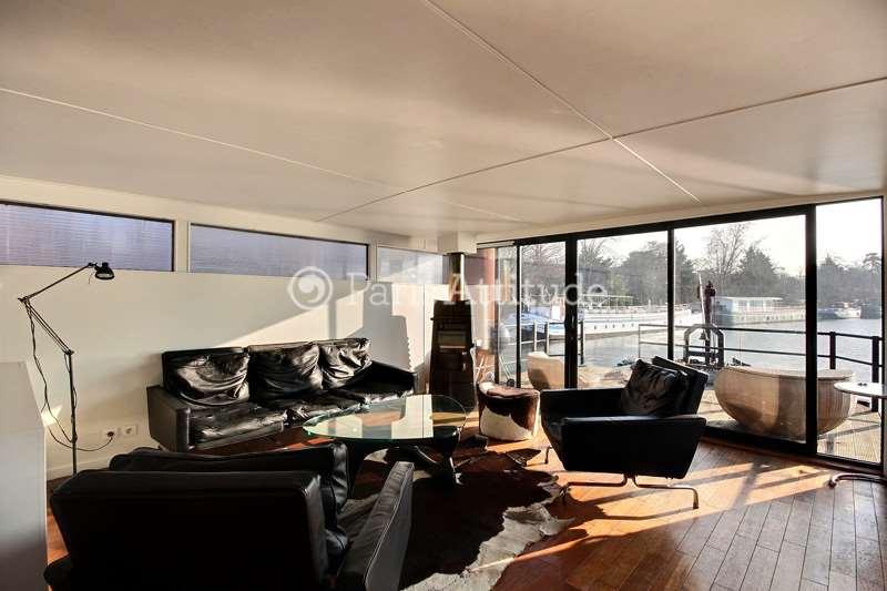 Rent Houseboat in Boulogne Billancourt 92100 - 125m² Boulogne ...