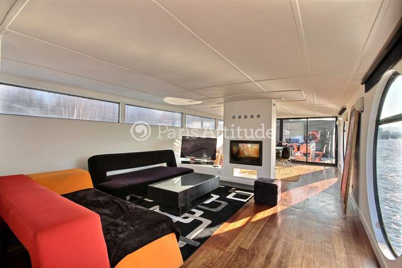 Rent Houseboat in Boulogne Billancourt 92100 - 130m² Boulogne ...