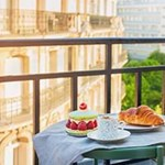 Rental furnished Balcony & Terrace Paris