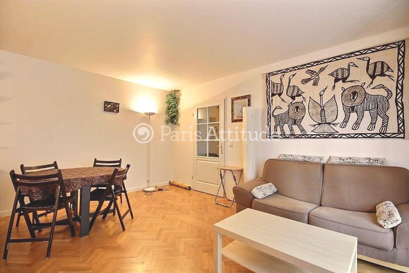 Rent apartment in paris 75020 50m nation ref 1003 for Living room 75020