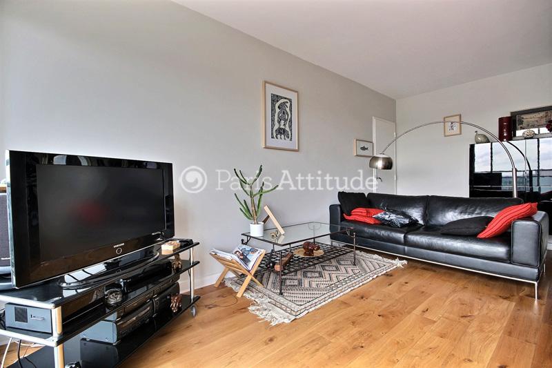 Rent apartment in paris 75020 53m p re lachaise ref 11271 for Living room 75020