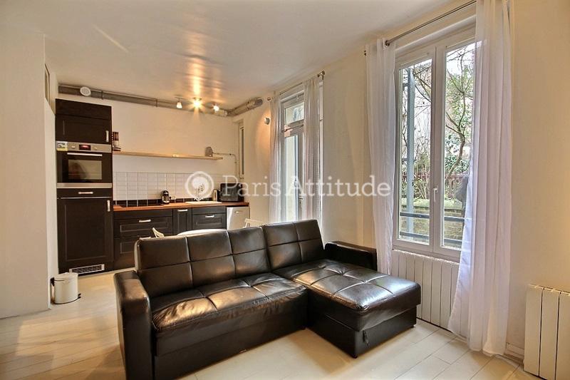 Rent apartment in paris 75020 27m gambetta ref 11304 for Living room 75020