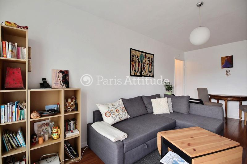 Rent apartment in paris 75020 43m gambetta ref 12407 for Living room 75020