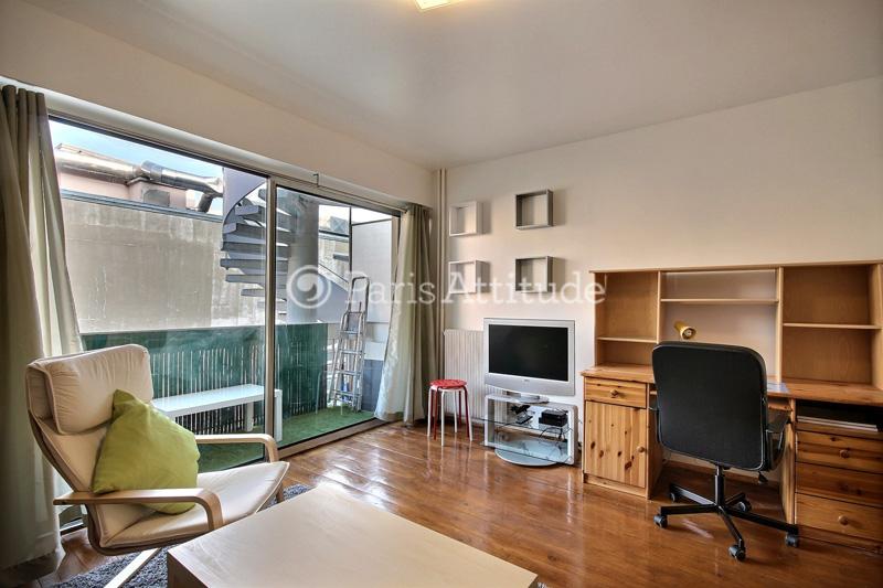 Louer un appartement paris 75017 26m porte de - Salon porte champerret ...