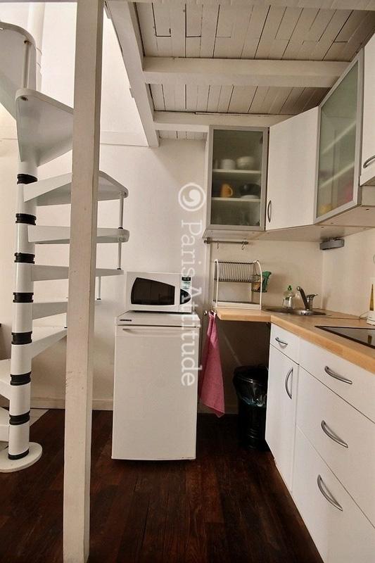 louer appartement Paris Duplex 1