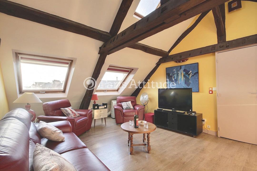 Louer un appartement paris 75009 95m saint georges - Nid rouge lincroyable appartement paris ...