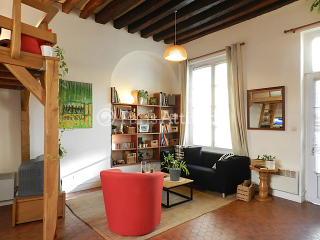 Rent apartment in paris 75020 30m gambetta ref 3233 for Living room 75020