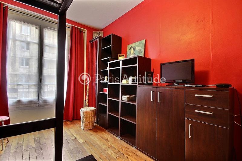 Louer un appartement paris 75019 18m buttes chaumont for Appartement atypique 75019