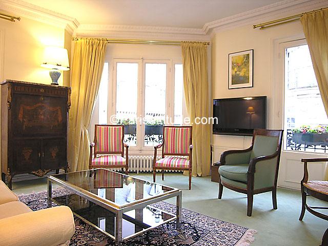 louer un appartement paris 75017 105m parc monceau ref 7268. Black Bedroom Furniture Sets. Home Design Ideas