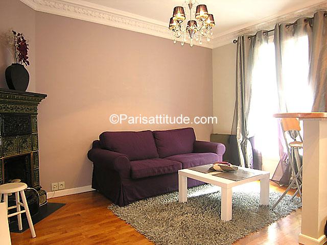 Rent apartment in paris 75020 35m gambetta ref 7509 for Living room 75020