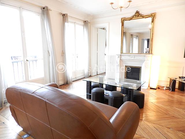 louer un appartement paris 75017 76m monceau ref 8358. Black Bedroom Furniture Sets. Home Design Ideas