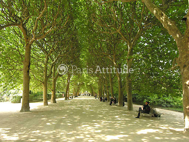 rent apartment in paris 75005 25m jardin des plantes ref 8757. Black Bedroom Furniture Sets. Home Design Ideas