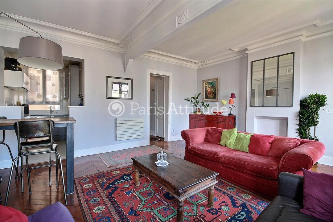 Rent apartment in paris 75020 55m gambetta ref 8765 for Living room 75020
