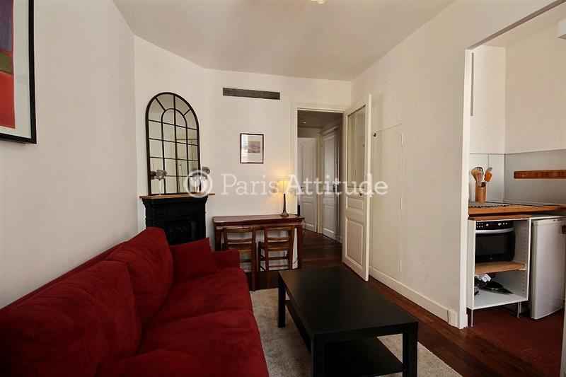 Rent apartment in paris 75020 33m gambetta ref 9945 for Living room 75020