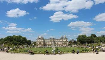 vital organ of the left bank - Jardin Du Luxembourg