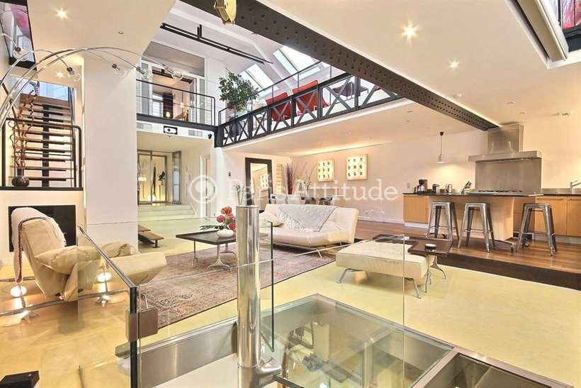 Rent furnished Loft 3 Bedrooms 300m² rue Greneta, 75002 Paris