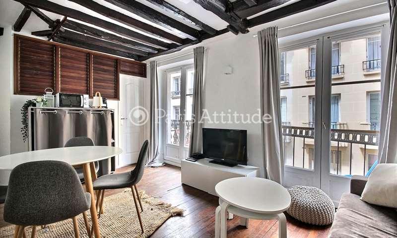 Rent Apartment 1 Bedroom 33m² rue du Pas de la Mule, 75004 Paris