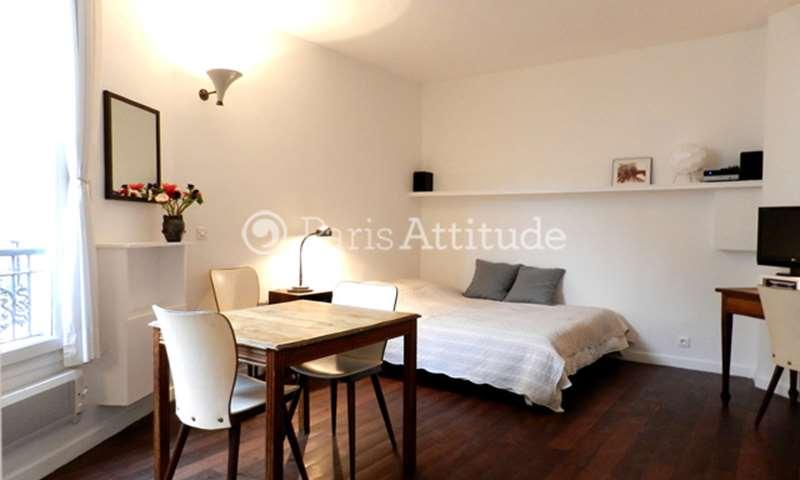Rent Apartment Studio 21m² rue Oberkampf, 75011 Paris