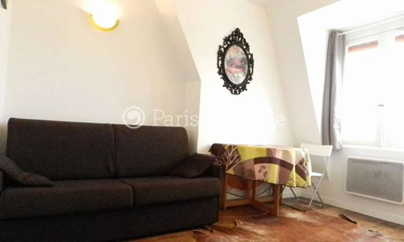 Rent Apartment Studio 20m² rue Lapeyrere, 75018 Paris