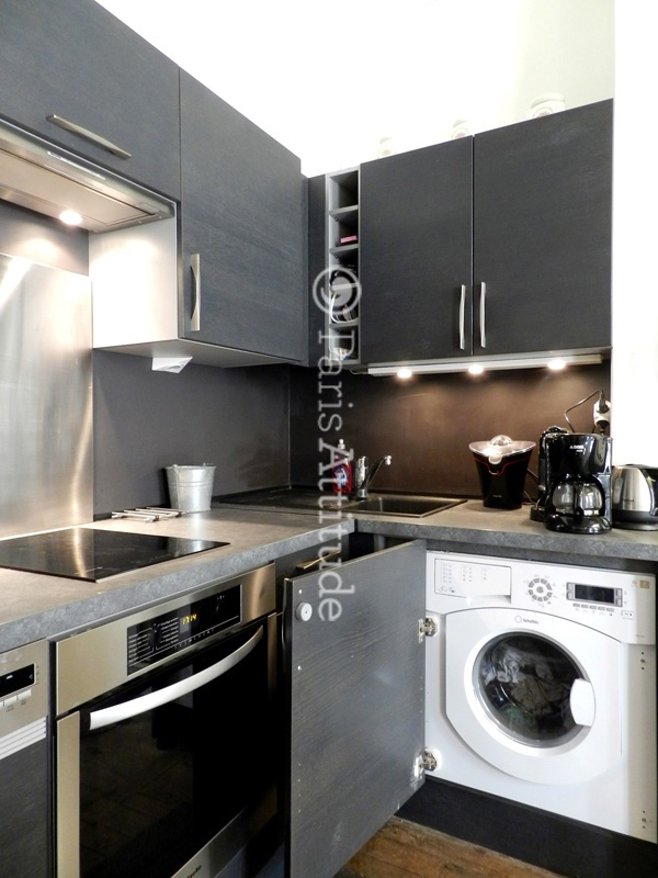 cuisine avec lave vaisselle voici ce que cela peut donner avec les meubles jusquuen haut et en. Black Bedroom Furniture Sets. Home Design Ideas