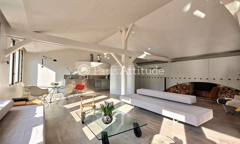 Rent Loft 3 Bedroom 180m² impasse Saint Claude, 75003 Paris