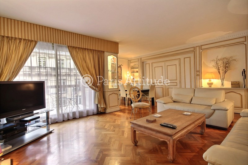 Rent Apartment 3 Bedroom 154m² avenue Raymond Poincare, 75016 Paris
