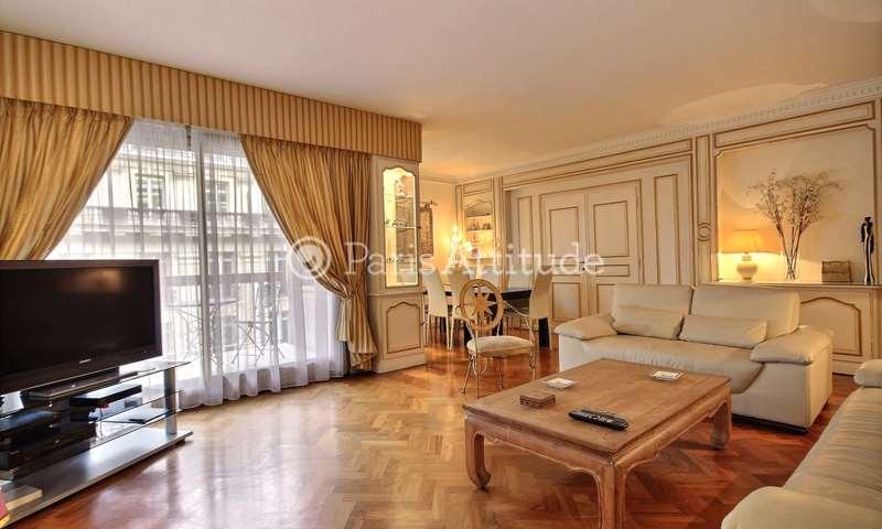 Rent Apartment 3 Bedrooms 154m² avenue Raymond Poincare, 16 Paris