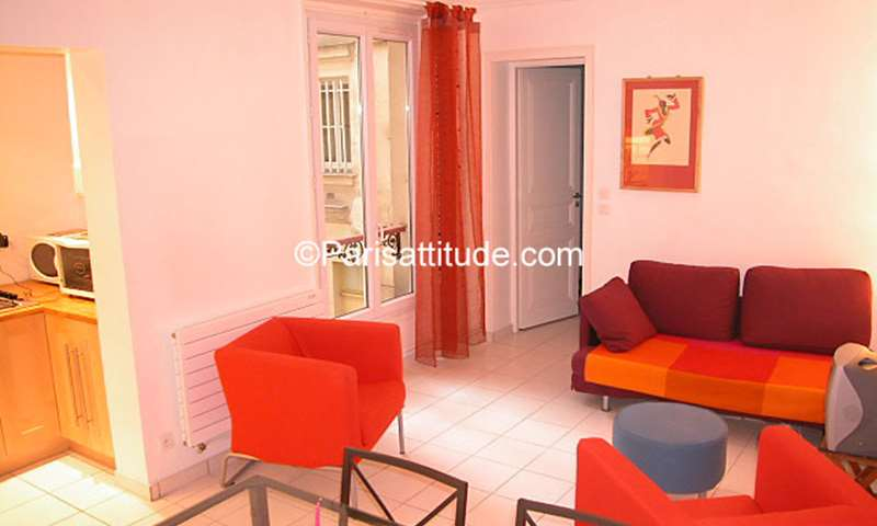 Rent Apartment 1 Bedroom 40m² rue de Clignancourt, 75018 Paris