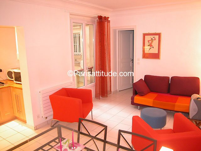Rent furnished Apartment 1 Bedroom 40m² rue de Clignancourt, 75018 Paris