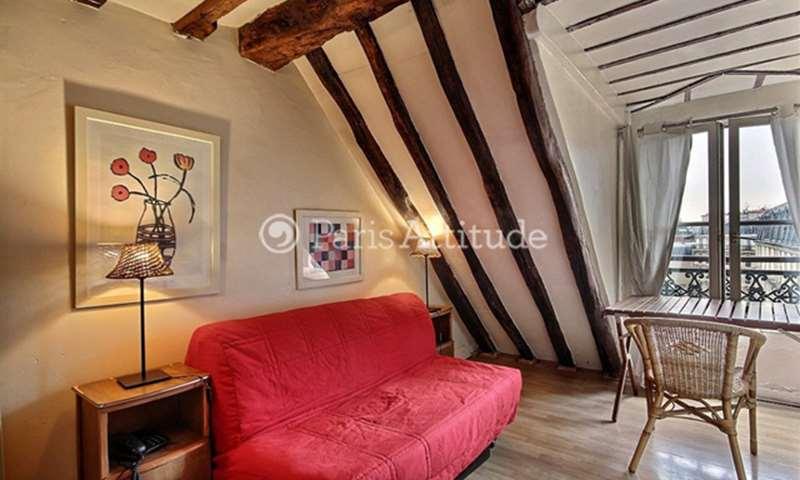Location Appartement Studio 15m² rue Bailly, 3 Paris