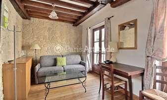 Rent Apartment 1 Bedroom 30m² rue du Pas de la Mule, 4 Paris