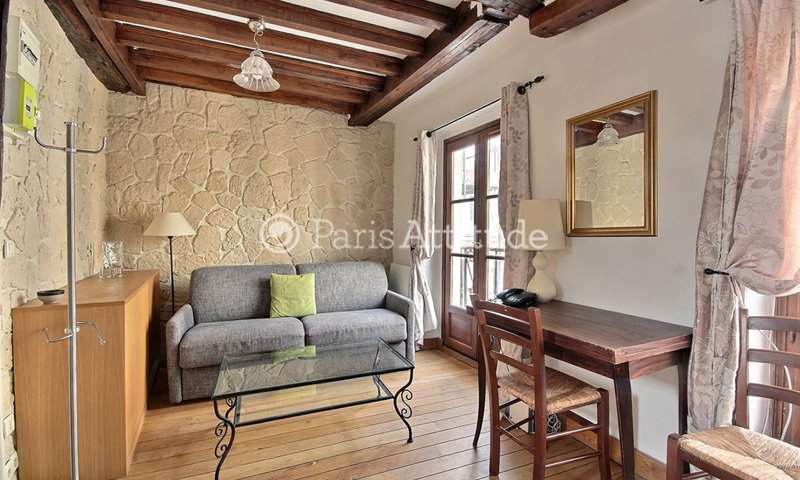 Rent Apartment 1 Bedroom 30m² rue du Pas de la Mule, 75004 Paris