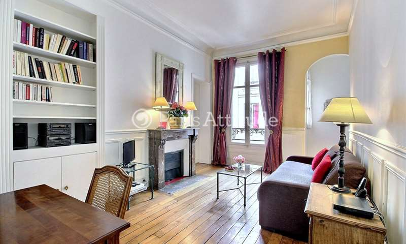 Rent Apartment 1 Bedroom 48m² rue Lalo, 75016 Paris