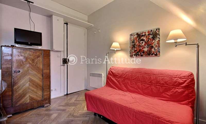 Location Appartement Studio 17m² rue du Cardinal Lemoine, 5 Paris