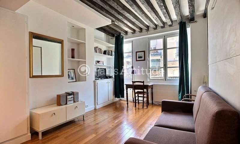 Rent Apartment Studio 24m² rue Saint Louis en l Île, 4 Paris