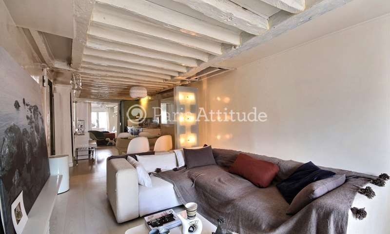 Rent Apartment 1 Bedroom 42m² rue des Vinaigriers, 75010 Paris