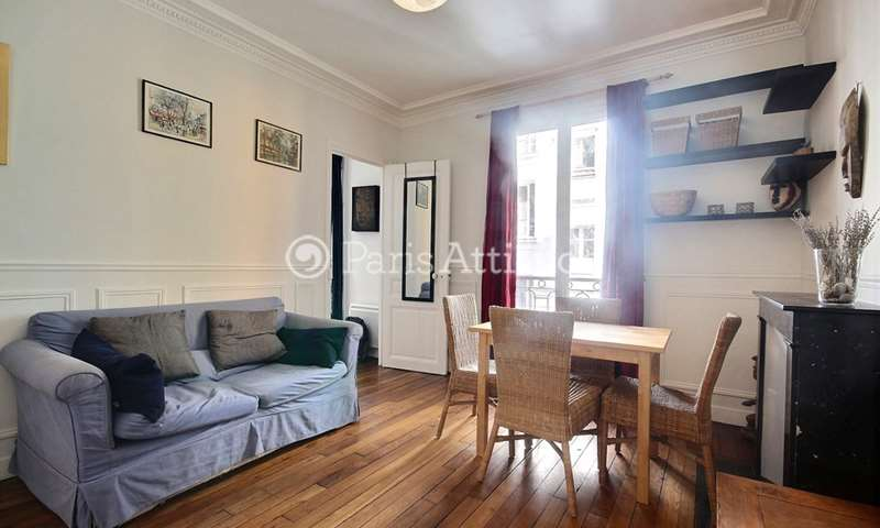 Rent Apartment 1 Bedroom 38m² rue de Menilmontant, 75020 Paris
