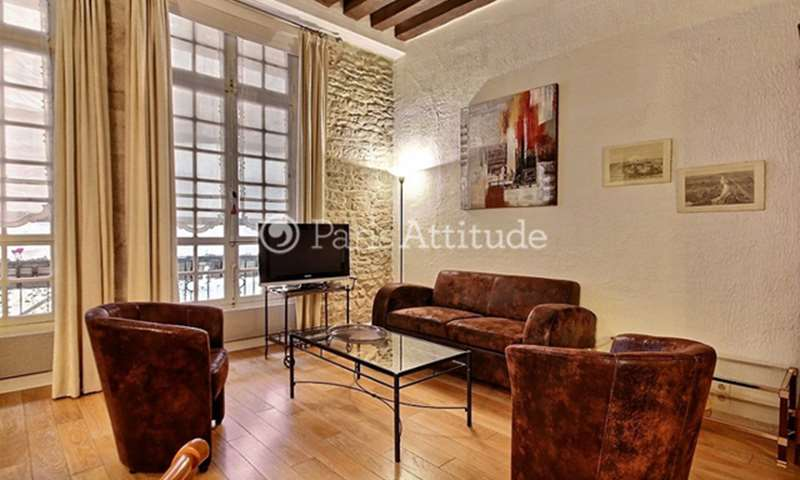 Rent Apartment 1 Bedroom 55m² rue de Saintonge, 75003 Paris