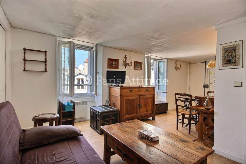 Rent furnished Apartment 1 Bedroom 36m² rue La Bruyere, 75009 Paris