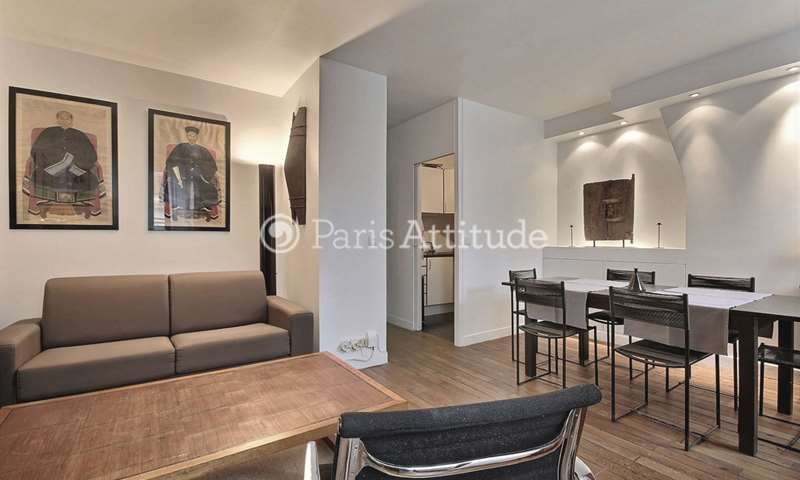 Rent Apartment 1 Bedroom 42m² rue de Lille, 7 Paris