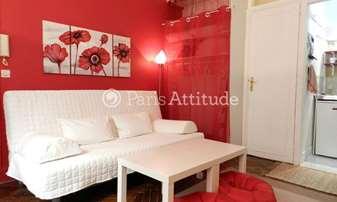 Rent Apartment Studio 22m² avenue Trudaine, 9 Paris