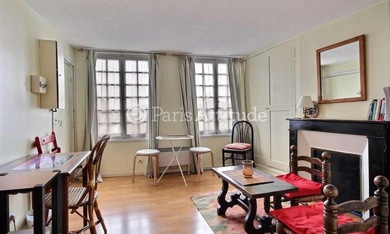 Rent Apartment Studio 24m² rue du Petit Pont, 75005 Paris