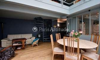 Aluguel Duplex 2 quartos 75m² rue de la Grande Chaumiere, 6 Paris