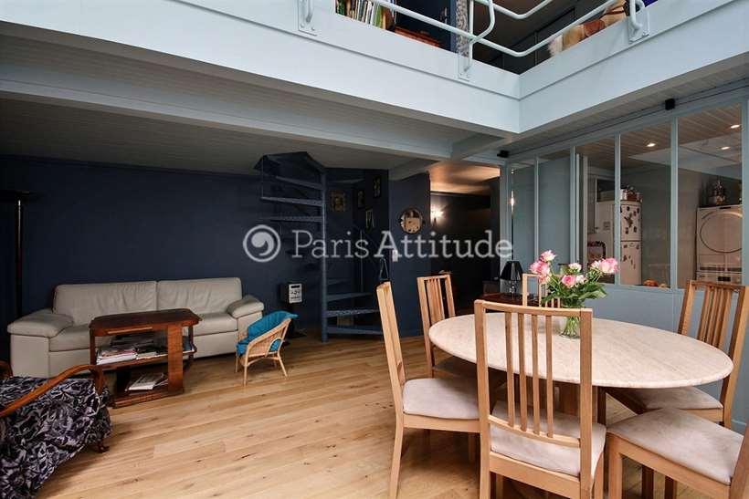 Rent furnished Duplex 2 Bedrooms 75m² rue de la Grande Chaumiere, 75006 Paris