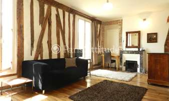 Rent Apartment Alcove Studio 40m² rue de la Roquette, 11 Paris